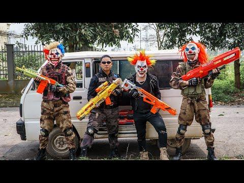 LTT Films : Seal XXx Nerf Guns Fight Criminal Group Tiger Mask Bandits Nerf War Rescue SWAT