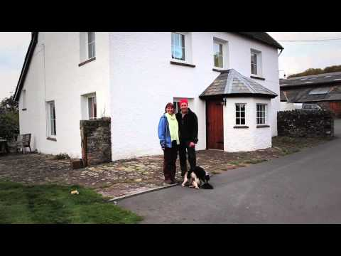 Greentraveller Video of Glaslyn House, Powys, Wales