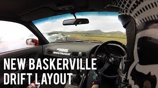 New Baskerville Raceway Drift Layout | Taylor Wright 180sx