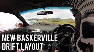 New Baskerville Raceway Drift Layout | Taylor Wright 180sx