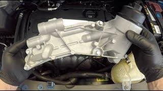 Oil Cooler Replacement Chevy Cruze Sonic Aveo Cobalt Holden Cruze Barina  F18D4 or F16D4 engine