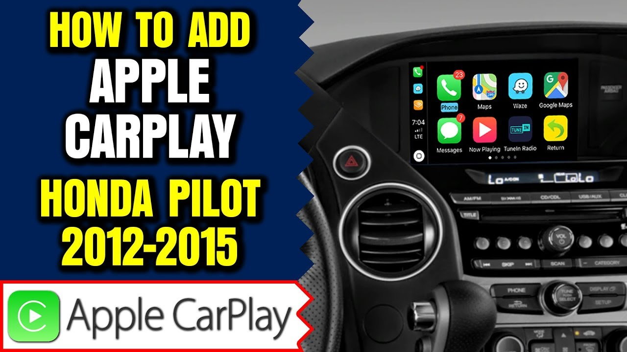 honda pilot   navtool navigation video interface apple car smartphone mirroring