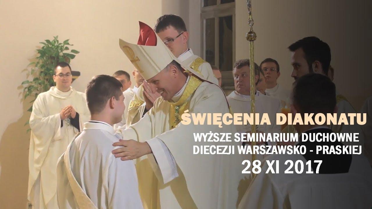 Święcenia diakonatu – WSDDWP (28 XI 2017 r.)