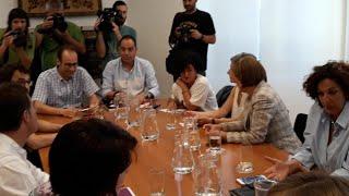 PSN, Geroa Bai, Podemos e I-E retoman las negociaciones para conformar gobierno