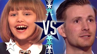 Grace VanderWaal VS. Richard Jones! Battle of The Champions! | Choose YOUR Winner!