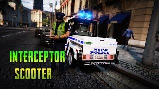 GTA 5 - Benzo Goes to Work - Simulation Sunday - Interceptor Scooter