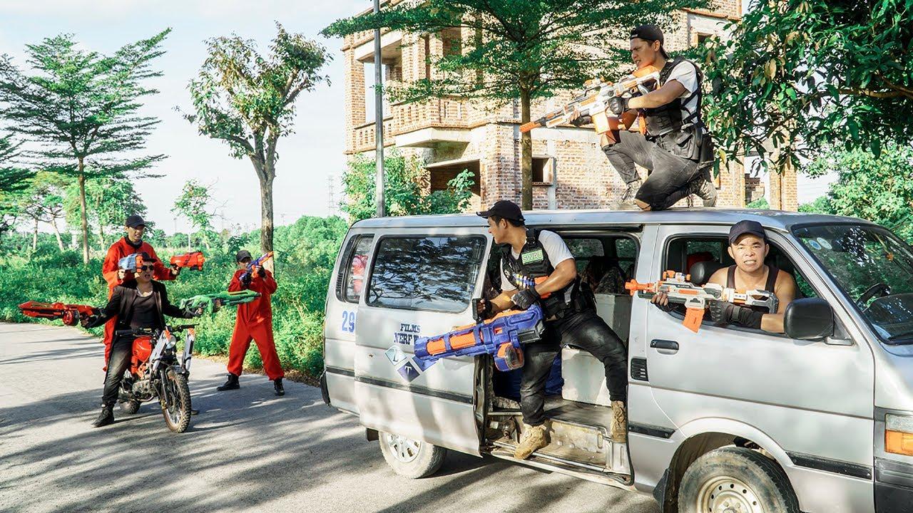 LTT Nerf War : SEAL X Warriors Nerf Guns Fight Dr Ken Crazy Special Task Force Of Century