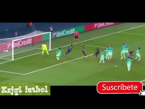 PSG vs Barcelona 4 - 0 Champions League 2017 Goles