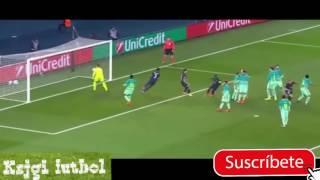 PSG vs Barcelona 4 - 0 Champions League 2017 Goles