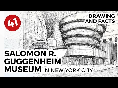 Solomon R. Guggenheim Museum | Daily Architecture Sketches #41