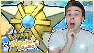 THE BEST SHINY RIDE POKEMON! Pokémon Let's Go Pikachu & Eevee Shiny Staryu Reaction!
