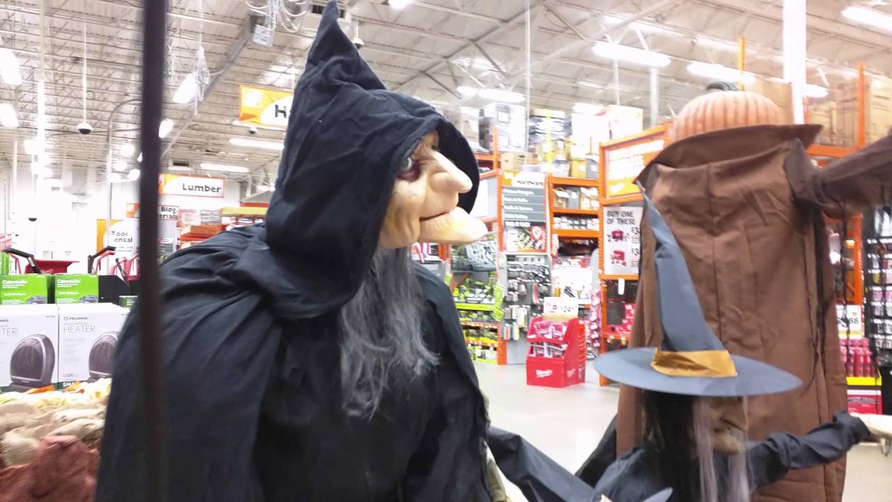 Home Depot Halloween Decorations - YouTube