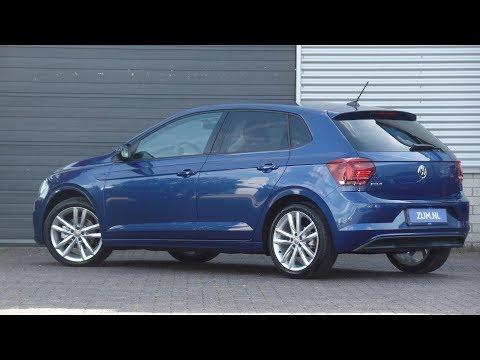 Volkswagen NEW Polo Highline 2018 Reef Blue 17 inch Pamplona walk around & detail inside