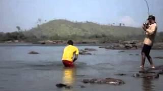 рыбалка на океане в португалии