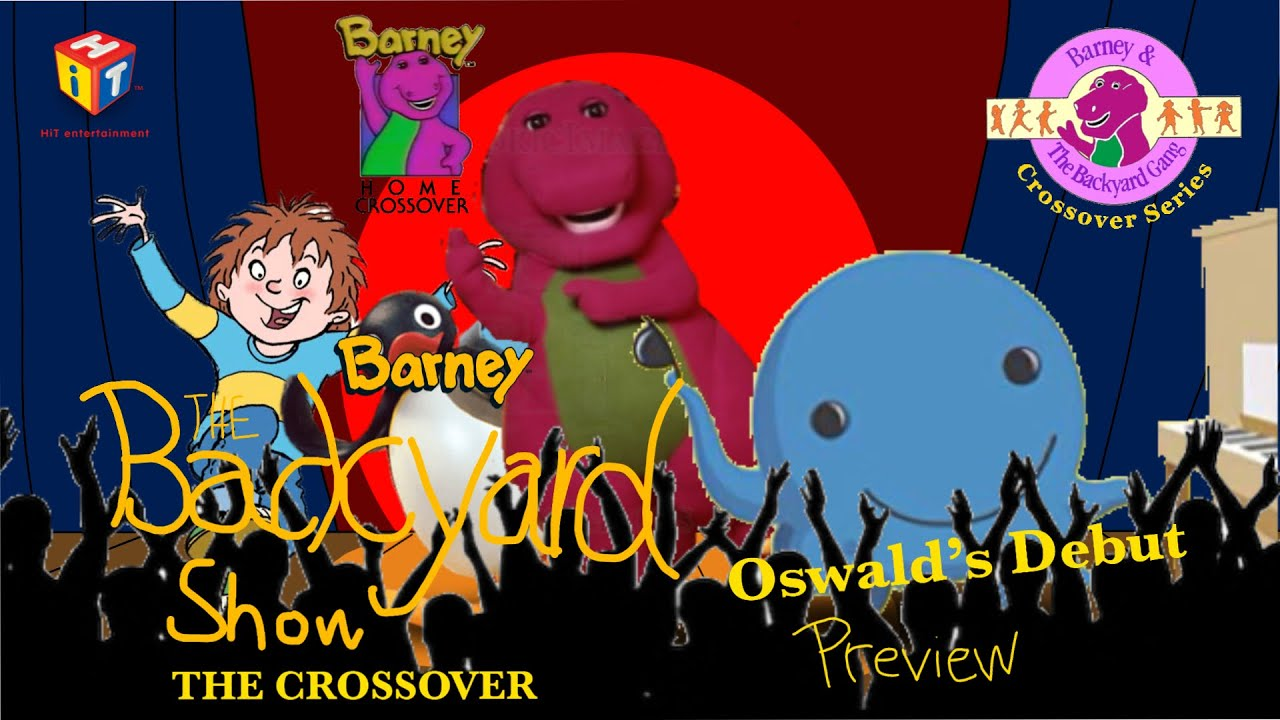 Barney: The Backyard Show: The Crossover: Preview - YouTube