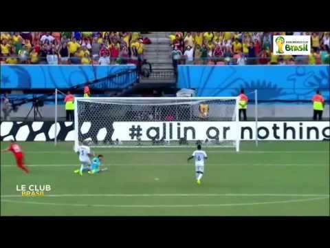 Les Buts de match Suisse contre Honduras 3-0 en Coupe du Monde 2014