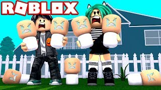 WE ADOPT ALL ROBLOX BABIES😨😱