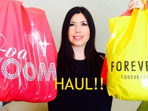 Haul Charlotte Russe, Forever 21, And More