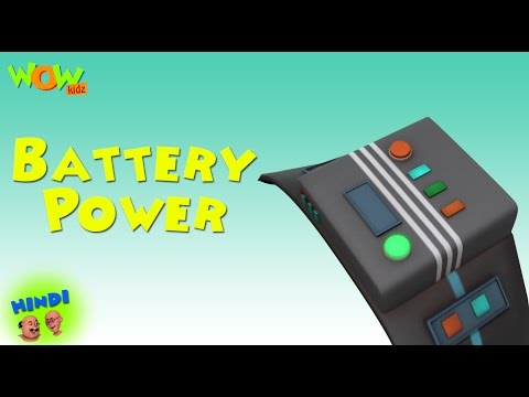 Battery Power - Motu Patlu in Hindi WITH...