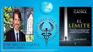 """Presentacion del libro """"El limite"""" de Jose Miguel Gaona. Con Iker Jimenez"""