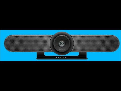"""Review of Logitech Conference Cam """"Meetup"""" (certified for Skype for Business etc)"""