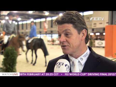 Rolex FEI World Cup 2012-13 Bordeaux, Interview - Jeroen Dubbeldam