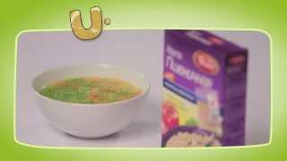Постный овощной суп с пшеничной крупой