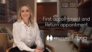 First appointment at Well Clinic