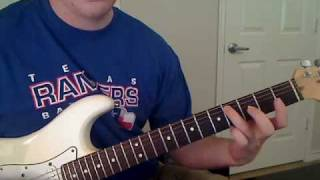 Lynyrd Skynyrd - Gimme Three Steps - GUITAR LESSON