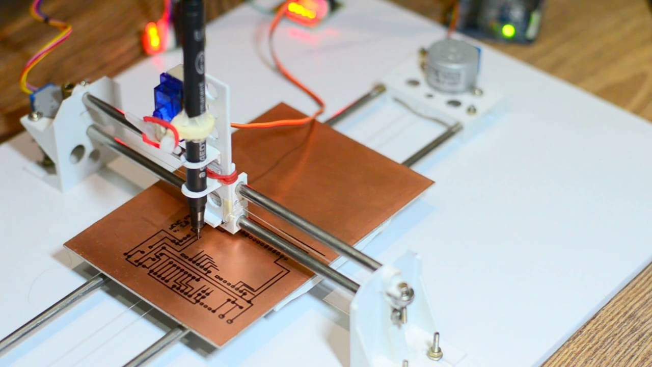Diy pcb ink plotter using arduino and grbl cnc doovi