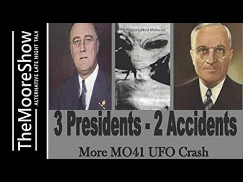 The Bombshell Before Roswell Crash, 3 Presidents More MO41 UFO Crash Data
