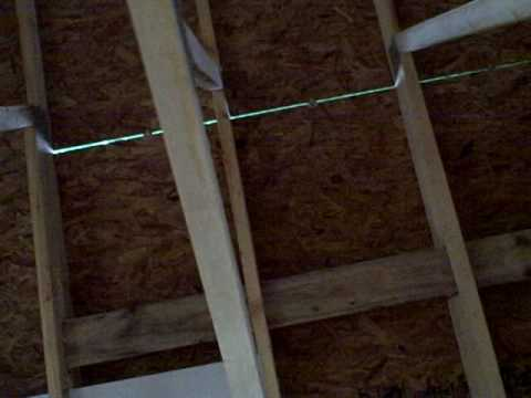 Roof sheathing spacing youtube for What to use for roof sheathing