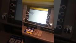 Auszahlung von Bargeld bei der Postbank