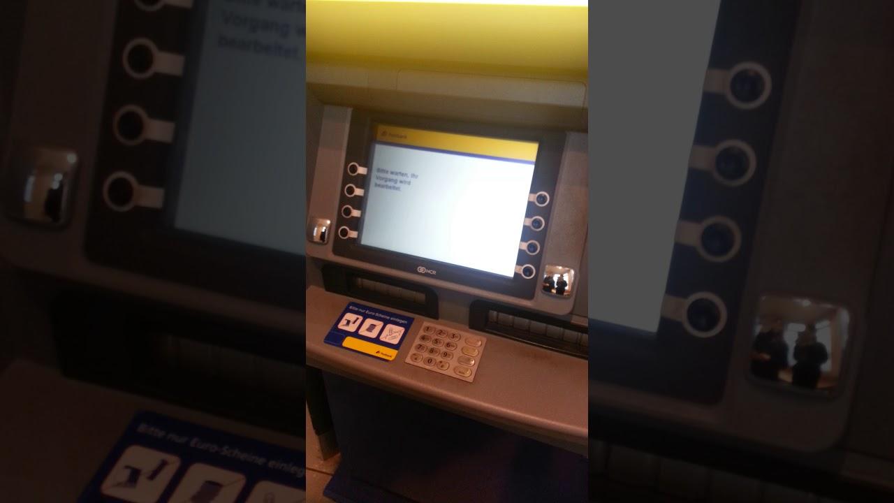 Einzahlung Postbank