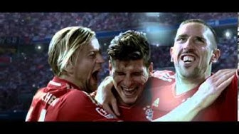 """MOF of """"Bwin - Die Sportwetten-Arena"""" Bayern München vs Real Madrid Commercial"""