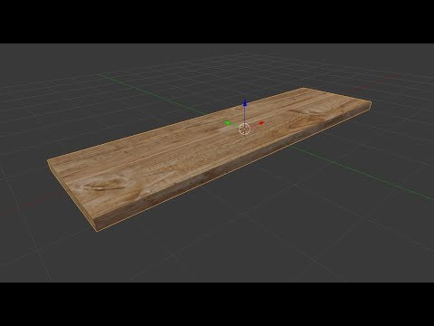 Modeling and Texturing a Board in Blender 2.79 - Blender Tutorials For Beginners