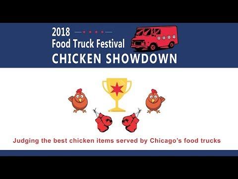 Chicago Food Truck Chicken Showdown Youtube