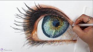 Baixar TIMELAPSE - Drawing a Realistic Eye - Channel Sheldene Fine Art