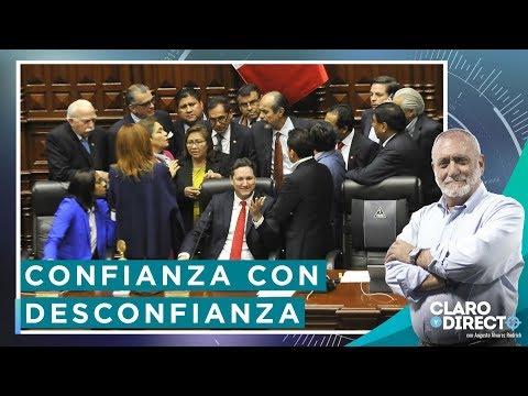 Confianza con Desconfianza | Claro y Directo con Augusto Álvarez Rodrich