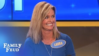 Steve Harvey knows where THIS answer came from! | Family Feud