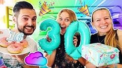 NINA HAT GEBURTSTAG! ÜBERRASCHUNGSPARTY zum 30. | Tolle Geschenke von Kaan & Kathi zu SUPER SWEET 16