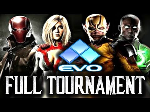 Injustice 2: EVO 2017 - Full Tournament! [TOP8 + Finals] (ft. SonicFox, Dragon, TekkenMaster etc)