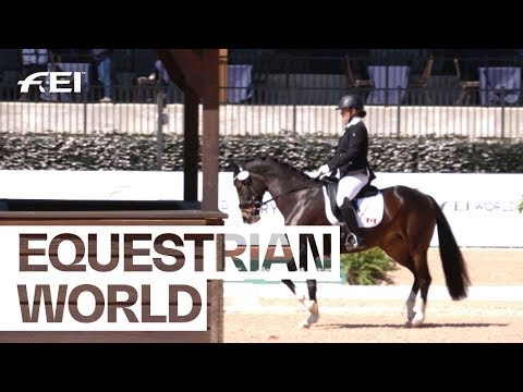 Laura Hall - the Para Dressage rider with an incredible willpower | Equestrian World