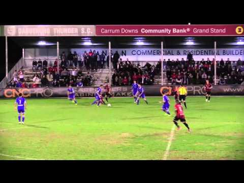 Kristopher Kioussis - Dandenong v South Melbourne Cup Game 2014