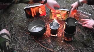 EDC Impro! Podpałki do grilla jako awaryjne paliwo stałe + improwizowana kuchenka Altoids/Compass