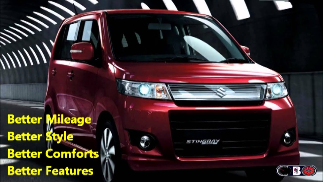 New Maruti Wagon R Stingray India 2013