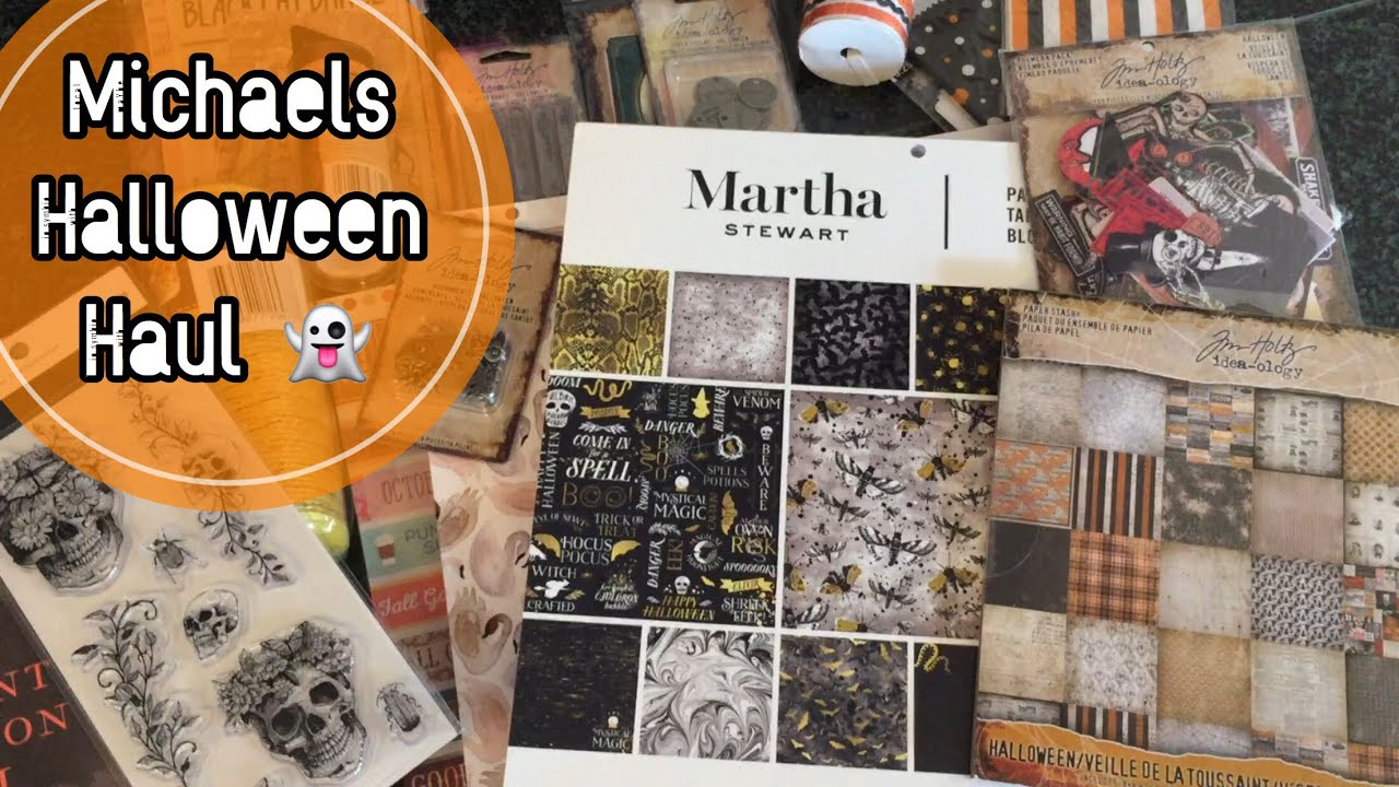 michaels haul new tim holtz martha stewart halloween 2017 im a cool mom - Michaels Halloween