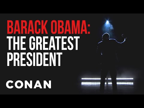 EXCLUSIVE  For Obama's New Netflix Special   CONAN on TBS