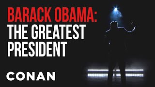 EXCLUSIVE Trailer For Obama's New Netflix Special  - CONAN on TBS