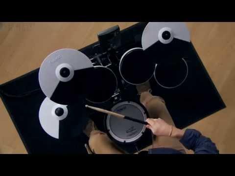 Kraft Music - Roland TD-1KV V-Drums Demo with Michael Jones